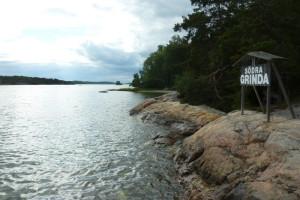 In den Schären knappe 2 Stunden mit dem Boot von Stockholm Zentrum entfernt.