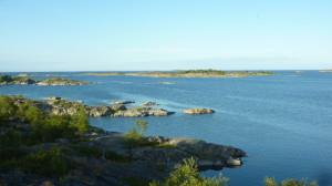 Sonnige Aussichten nahe Stora Nässa oder so ;-)