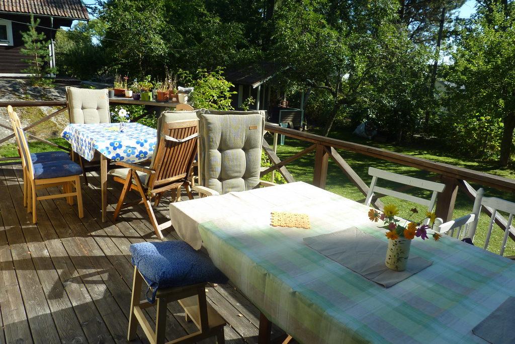Die Mittagssonne waere zu warm gewesen, zum Nachmittag hatten wir angenehmen Halbschatten.